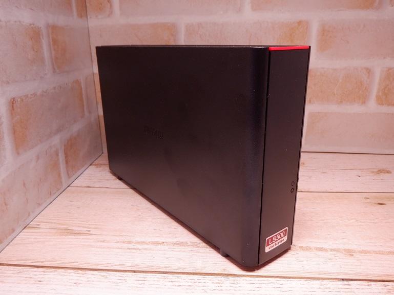 BUFFALO NAS LS510D0201G 側面