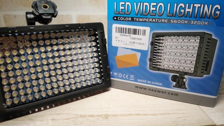 LEDビデオライト CN-160 アイキャッチ