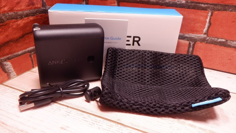 Anker PowerCore Fusion 5000 同梱品