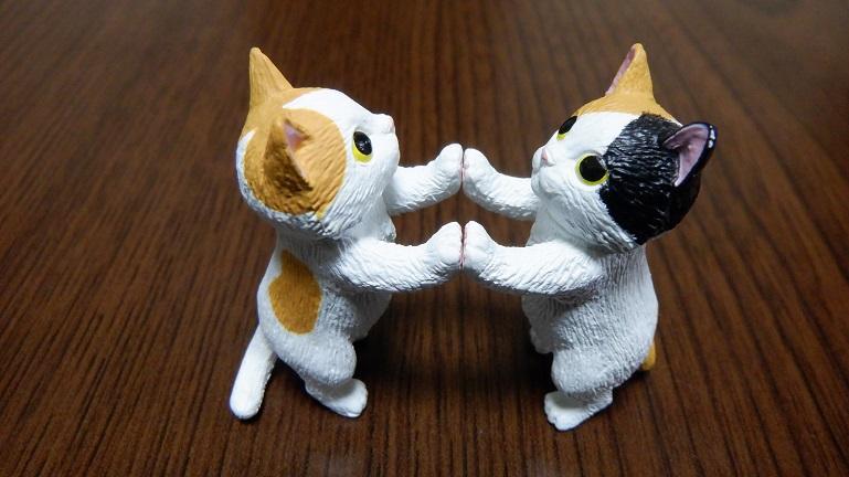 タッチ猫2 ミケ、ハチワレ