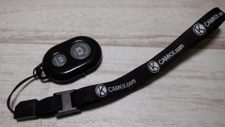 Camkix Bluetooth リモートシャッター アイキャッチ