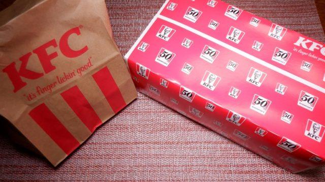 カラーラで温め直し KFC