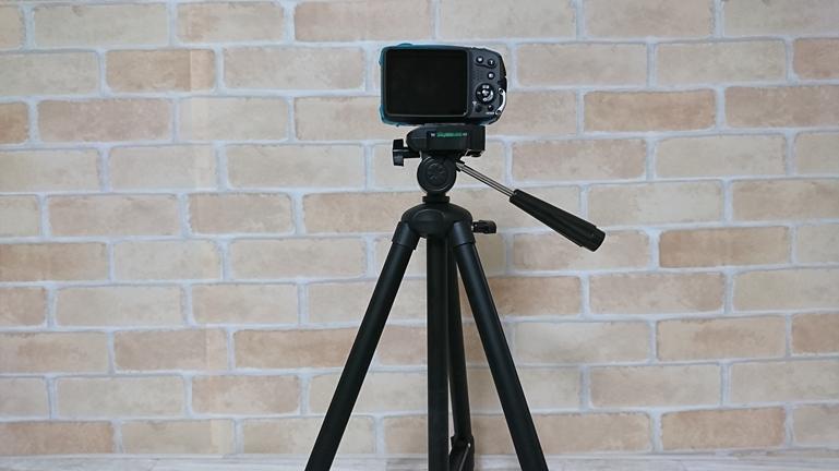 三脚 HAKUBA W-312 カメラを付ける