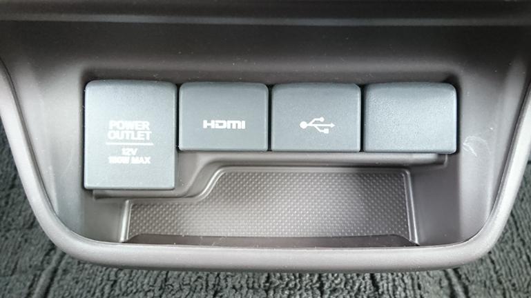 フリード HDMI部