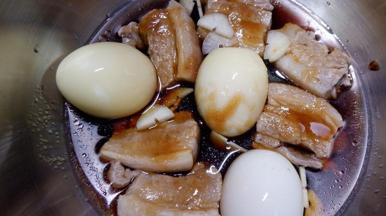 ホットクック 豚の角煮&たまご 具材投入6