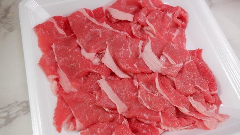 ホットクック 牛丼 牛肉