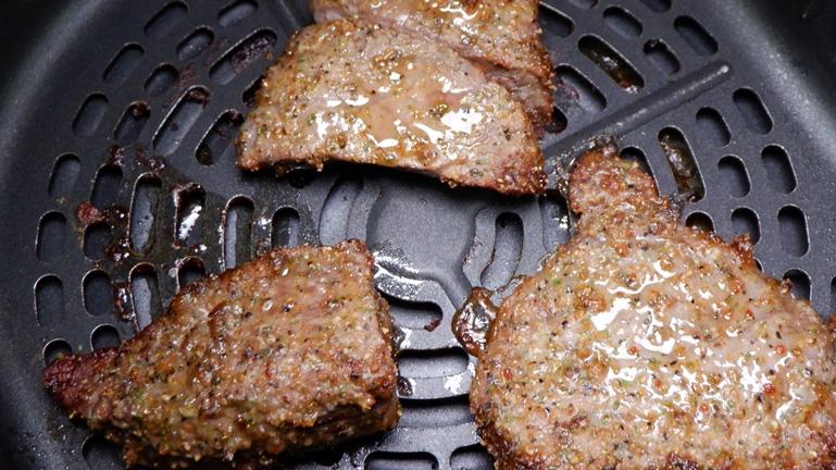 カラーラ ステーキ 5分加熱