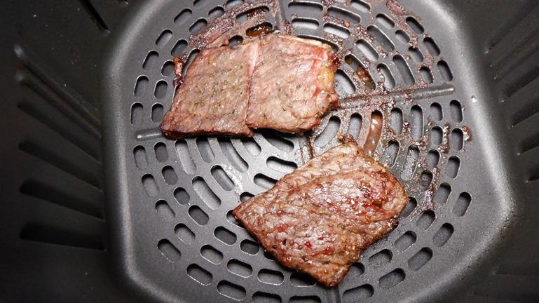 カラーラ ステーキ 二分ほど加熱