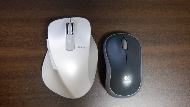 マウス エレコムM-XGL10DB Lサイズ