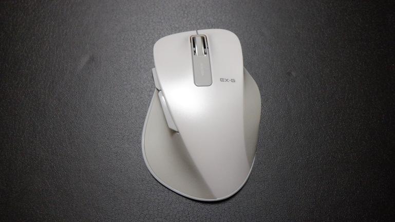 マウス エレコムM-XGL10DB 正面