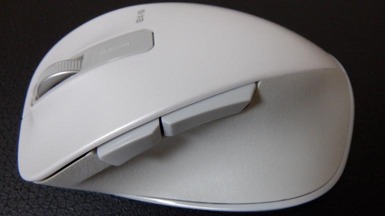マウス エレコムM-XGL10DB 側面