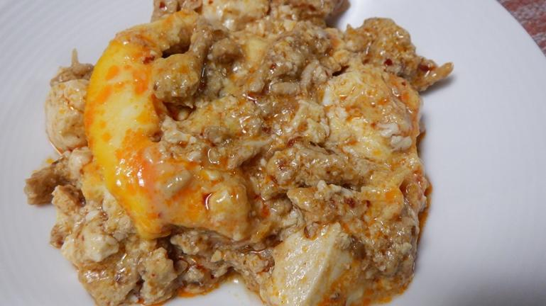 ホットクック 陳麻婆豆腐 溶き卵つき
