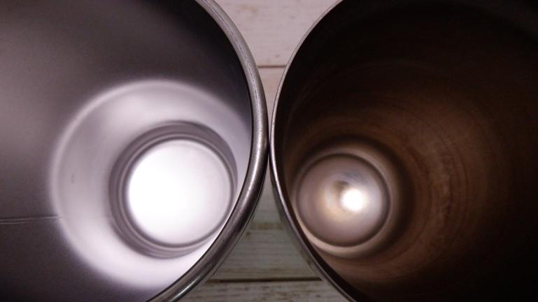 象印タンブラーSX-DN45 サーモスと比較