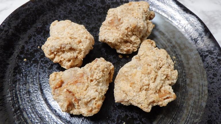 雑記日記 ファミリマート 冷凍食品 若鶏の唐揚げ2