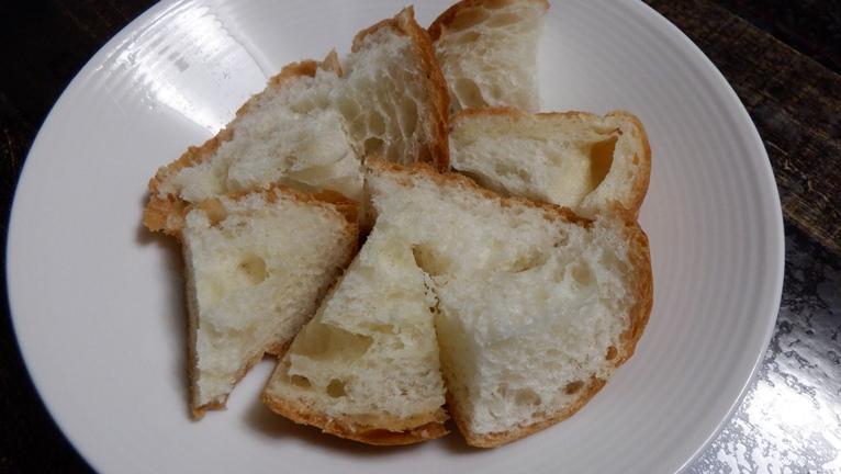 アラジングラファイトグリラーでチーズフォンデュ パン