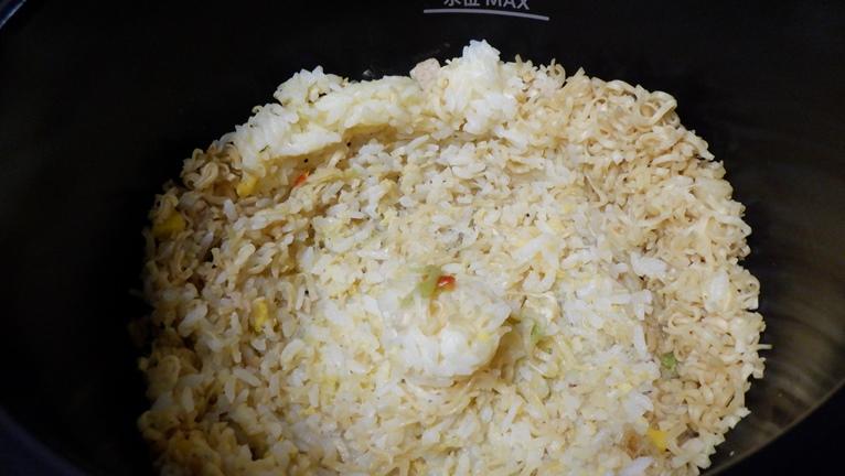 カップヌードル 塩 sio 炒飯 チャーハン ホットクック14