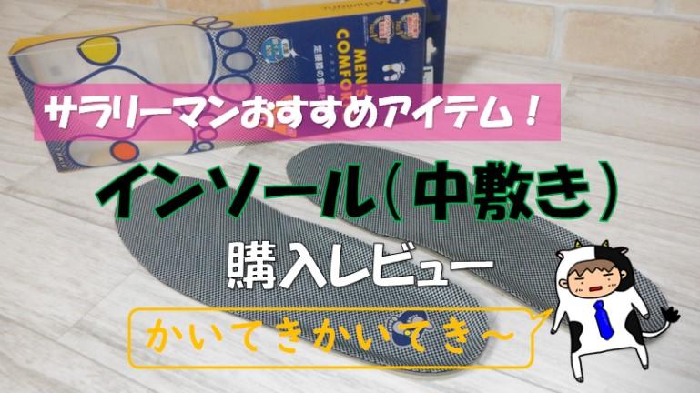 靴中敷き アシマルメンズコンフォートⅡ アイキャッチ