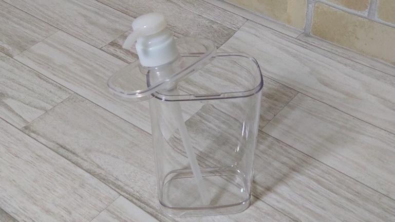 無印良品 フタが外せるPET詰替ボトル 本体