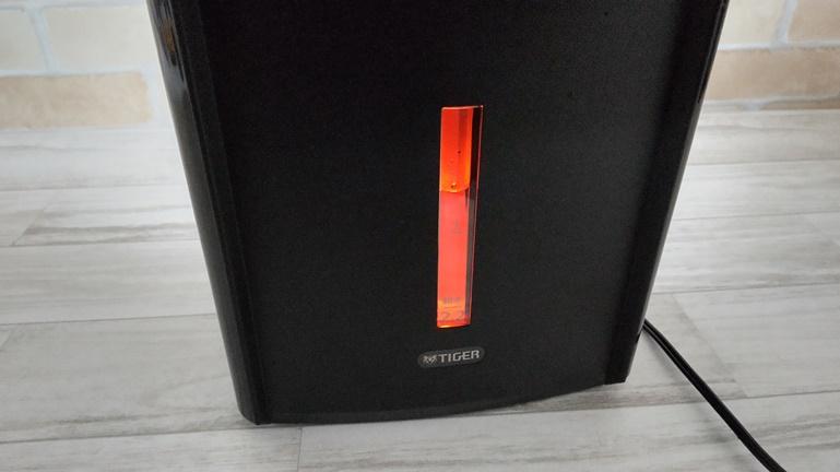 タイガー蒸気レス電気ポットPIM-G220 バックライトで水量わかる