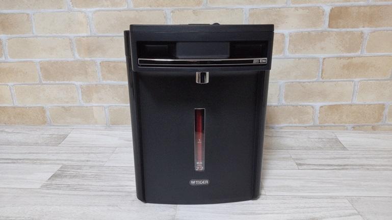 タイガー蒸気レス電気ポットPIM-G220 本体正面