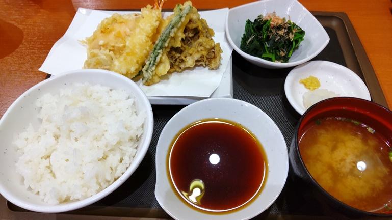 天丼てんや オールスター天ぷら定食
