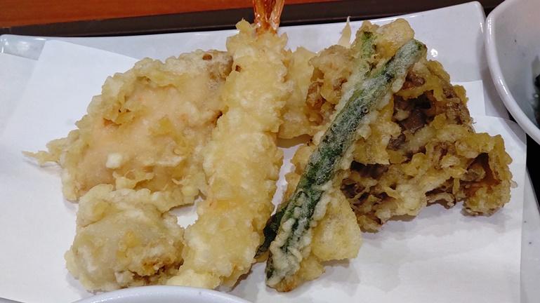 天丼てんや オールスター天ぷら定食 天ぷら
