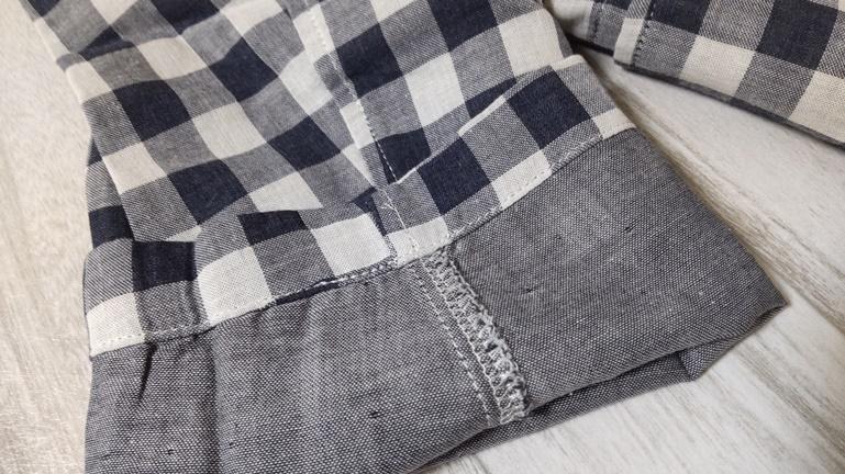 無印 パジャマ 袖