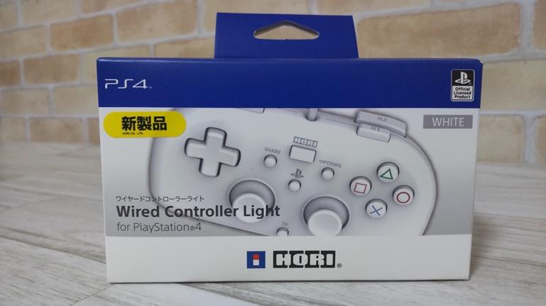 PS4用 ホリ ワイヤードコントローラー 箱