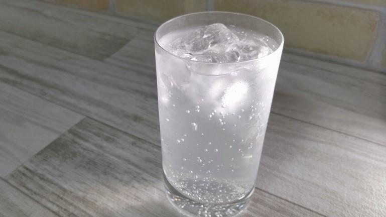 ソルティライチベース 炭酸水で作る